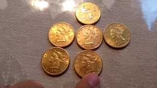 Lady Liberty Gold Coins
