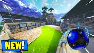 *NEW* SPIKY STADIUM PORT-A-FORT GAMEPLAY FOUND IN FORTNITE PLAYGROUND...