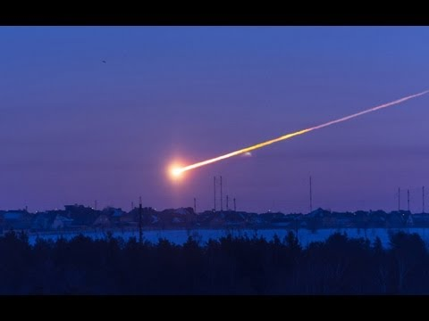 Meteor Hits Russia 2013 - Best Footage Collection