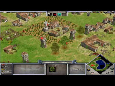 Alexanderys vs Kane112esimo - Age of mythology titans multiplayer