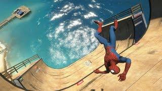 GTA 5 Water ragdolls | SPIDERMAN Jumper/Falls Compilation ep.4 (Euphoria physics FunnyMoments)