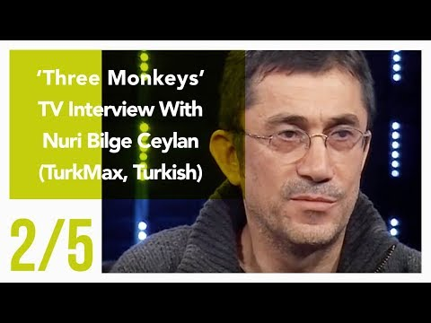 Three Monkeys - TV Interview With Nuri Bilge Ceylan 2/5 (TurkMax, Turkish)