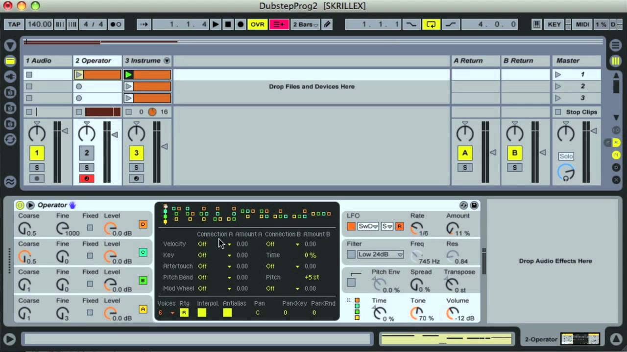 ableton how to make your sounds warped
