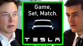 Elon Musk: It's Game, Set, Match - Tesla is Vastly Ahead of Everyone | AI Podcast Clips