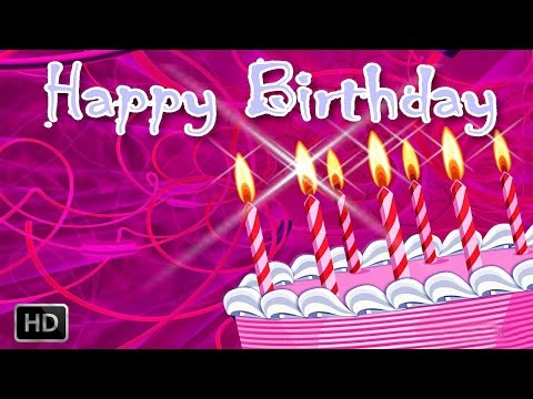 Happy Birthday Songs For Kids (with Lyrics) video