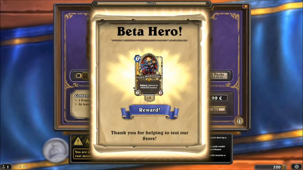 how to buy hearthstone packs with google play