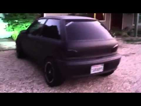 Murdered Out Geo Metro