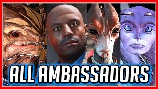 Mass Effect ANDROMEDA: All Ambassador Choices (Moshae, Bradley, Morda & Raeka) + Moshae's Reaction