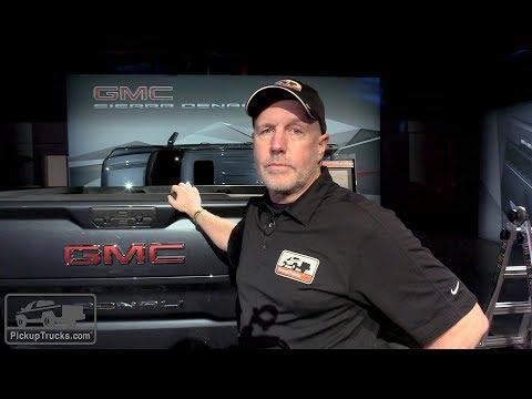 2019 GMC Sierra MultiPro Tailgate Demo