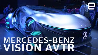Mercedes-Benz Vision AVTR first look at CES 2020