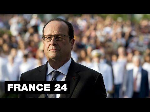 François Hollande en visite en Haïti après son discours plein de promesse sur la dette