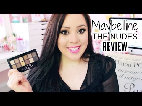 *NEW* Maybelline The Nudes Palette Review and Swatches!