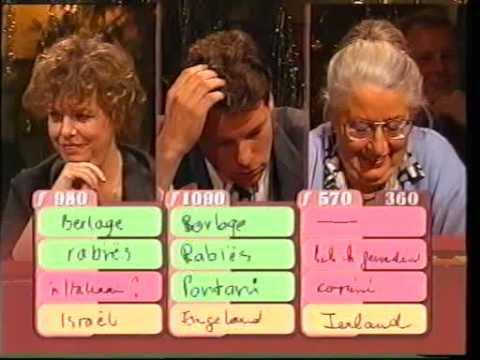 300e video: stukje 'met het mes op tafel' met Herman van der zandt 31-12-1998 (deel 2)