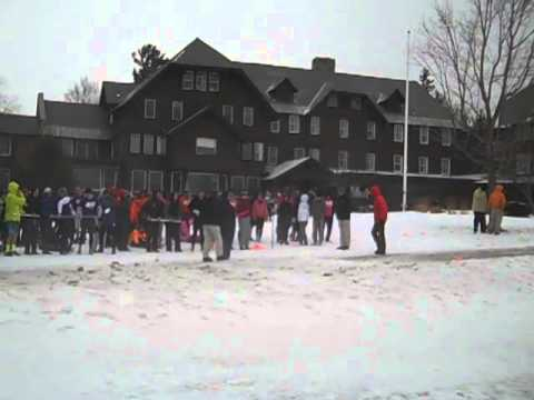 Northwood School Winter Carnival 2013 sled contest (2)