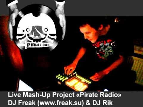 Live Mash-Up project Pirate Radio (DJ FreaK & DJ Rik) - live mash-up (rock'n'roll)