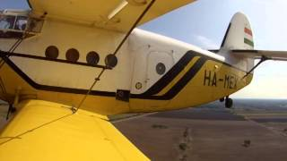 Antonov An-2 Teherdeszant - Humanitarian Air Drop Training