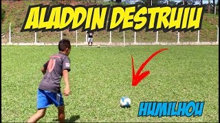 ALADDIN DESTROI PERNAS DE PAU FC (DESAFIOS DE FUTEBOL)
