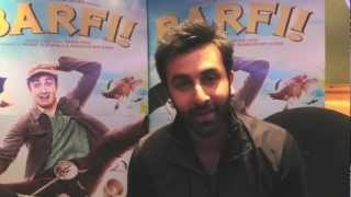 Barfi - Naughty Ranbir Kapoor thanks all his fans for the support on Barfi!