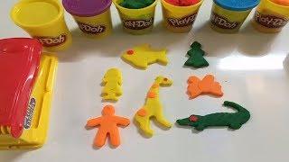 Nặn đất sét Play Doh Bé Học nặn các con vật -- Kids Creative TV ❤