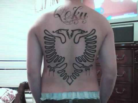 Albanian Eagle Tattoo