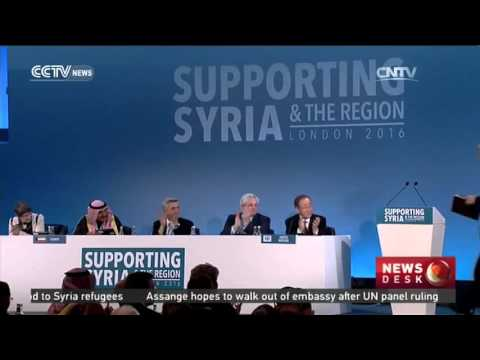 Billions raised to ease Syria humanitarian situation