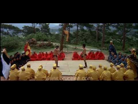 Bruce Lee 'Enter The Dragon' Sammo Hung Fight Image 1