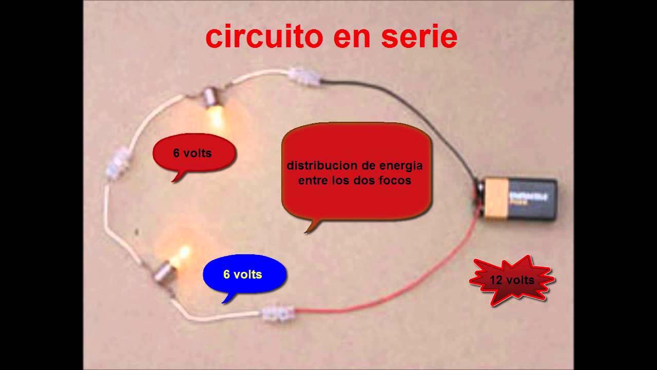 Circuito Electrico En Serie : Circuitos electricos paralelo serie mixtos youtube
