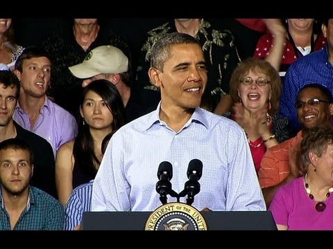 President Obama on the American Jobs Act in Millers Creek, North Carolina