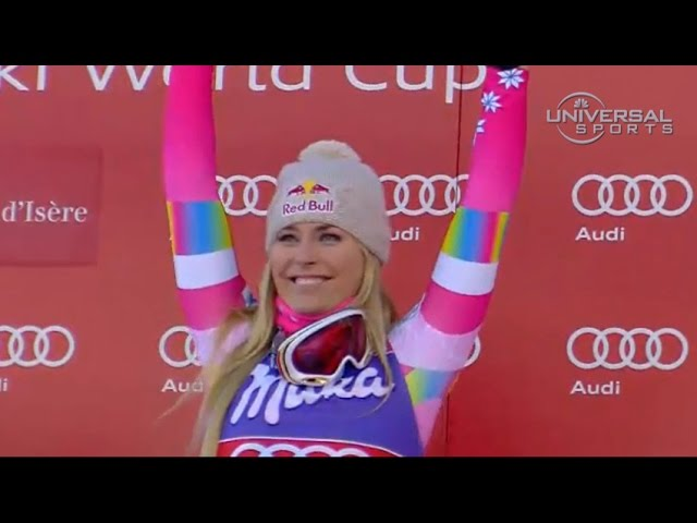 Lindsey Vonn gets second win, Val d'lsere - Universal Sports