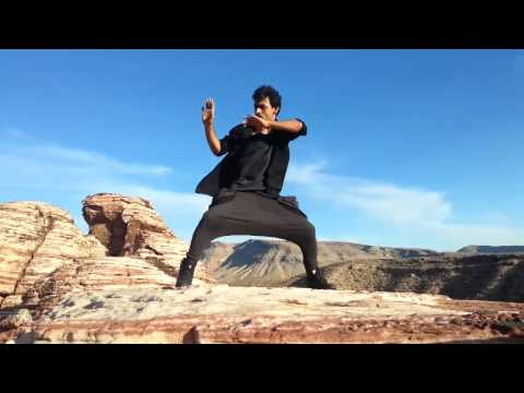 Harihar Dash Free Styling At The Grand Canyon - video
