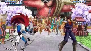 Justice Vs  Kenshiro (M.U.G.E.N.)