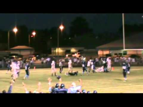 Joseph Hoggard  Bertie High School 2014 Senior Football Highlights