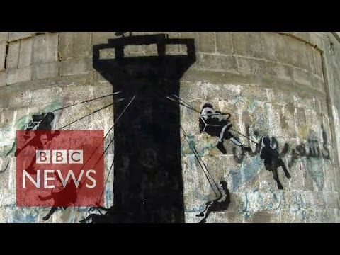 Gaza: Banksy artwork for a new documentary - BBC News