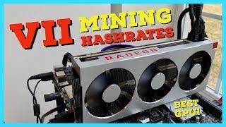 The BEST GPU for Mining EVER - Radeon VII Mining Review   Hashrates   Profitability   Overclocks