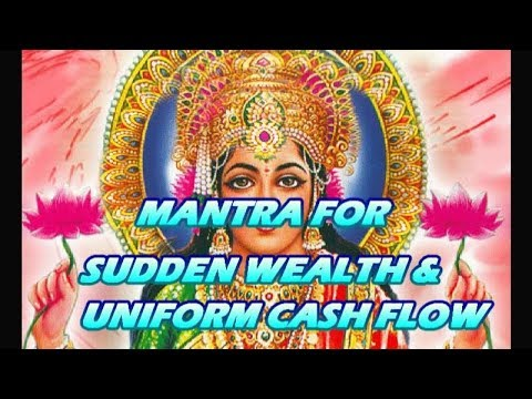 Mantra For Sudden Wealth & Uniform Cash Flow - Shabar Lakshmi Mantra video