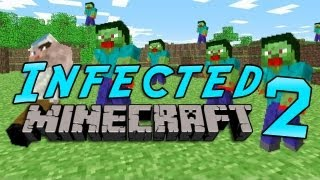 Minecraft: Infected w/Mitch Game 2 - Iron Golems!