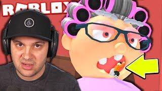 Granny ate me... | Roblox Escape Grandma Obby