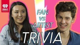 Shawn Mendes Challenges A Super Fan In A Trivia Battle | Fan Vs. Artist Trivia