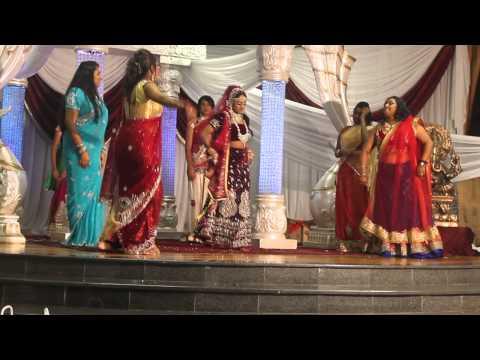 Kish Weds Salini - SOUTH AFRICAN INDIAN Bridal Dance - Salini Hari - 8 Aug 2015 thumbnail