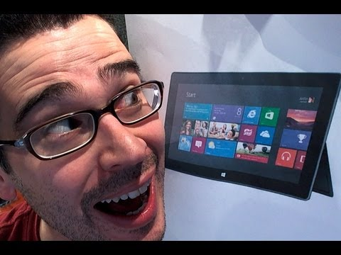 Microsoft Surface Unboxing (Windows RT) & Initial Impressions