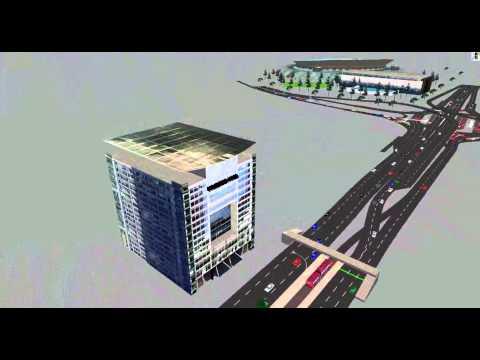 Vissim simulation for sport city in Amman-Jordan