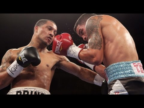 ShoBox Jorge Melendez vs Nick Brinson  4th Round Double Knockdown