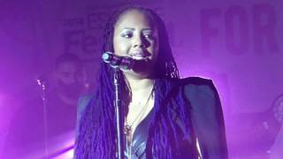Lalah Hathaway ad libs, scats, hits HARMONY NOTES BY HERSELF@ Essencefest 2016