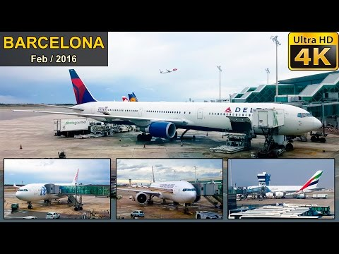 ✈ Spotting Airplanes in Barcelona ✈ ✰ With Info ✰
