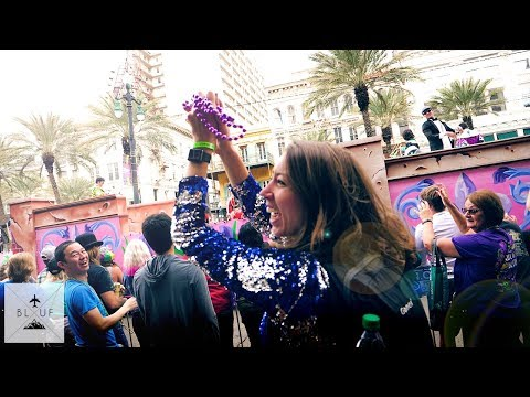 Mardi Gras 2018 was NOT what we expected! [New Orleans]