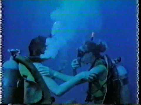 Charlie's Angels scuba diving