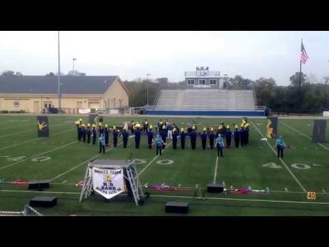 Rising sun high school field warm up and tune Simon Kenton high school