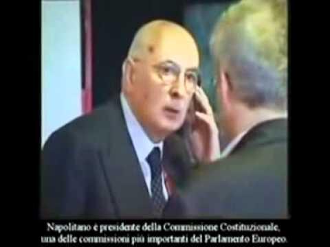 Giorgio Napolitano ladro - Guarda il video e capirai chi è l'uomo che nega il boom dei grillini