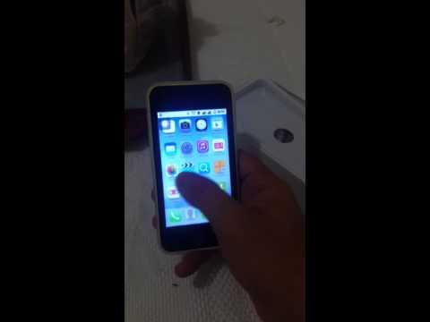 Replica iphone 5C Android 4.2