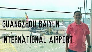 China travel vlog guangzhou baiyun international airport (airport)